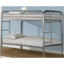 edgewood twin bunk bed w ladder morris home bunk beds
