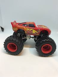 100 Lightning Mcqueen Truck Disney Cars 155 Custom Monster Paulmartstore