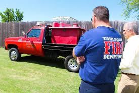 100 Brush Trucks New Truck To Help TFD Battle Brush Grass Blazes News