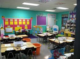 Decoration Organization For The High School Classroom Teaching And