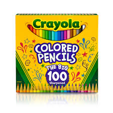Crayola Bathtub Crayons Refill by Buy The Crayola The Big 100 Colored Pencils At Michaels