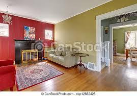 wohnzimmer gelbe wände fireplace rotes lebensunterhalt