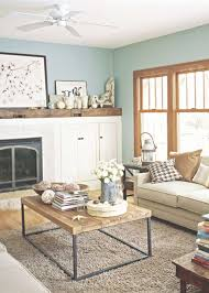 Rustic Living Room Wall Decor Ideas Ceiling For Decorating With