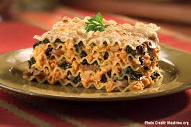 Rachael Ray Pumpkin Lasagna by Healthy Holiday Pumpkin Recipes