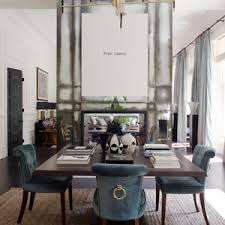 Rooms Decor And Office Furniture Thumbnail Size The Application Of Blue Dining Room Chairs Home