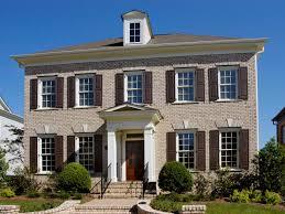 Home Design Brick House Designshouse Traditional Plans