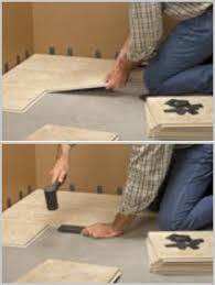Groutless Porcelain Floor Tile by Cliks Floor Tiles No Motor Or Grout Required