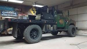 100 Custom Truck Exhaust 2 Ton Chevy Pickup With A Custom Flatbed Exhaust Stacks Chopped