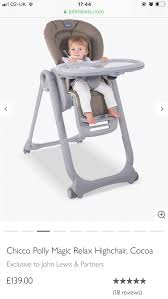 CHICCO POLLY MAGIC RELAX HIGH CHAIR In Madeley For £80.00 ... Chicco Polly Magic Highchair Demstration Babysecurity 6079900 High Chair Imitation Leather Anthracite Baby Cocoa Easy Romantic Babies Kids Strollers Polly Magic Highchair Shop Generic Online In Riyadh Jeddah And All Ksa Cheap Find Chairpolly Nursing Se Safety Zone Powered By Jpma Relax Scarlet Babythingz Chicco Polly Magic Relax High Chair Madeley For 8000