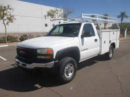 USED 2004 GMC SIERRA 2500HD SERVICE - UTILITY TRUCK FOR SALE IN AZ #2262