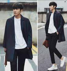 Image Is Loading Korean Fashion Spring Winter Men Mid Long Japanese