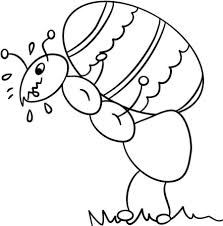 Trend Ant Coloring Page 12 For Download Pages With