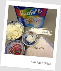 Review of Pillsbury Funfetti Cake Pop Kit Pint Sized Baker