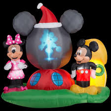 Halloween Blow Up Decorations For The Yard by Home Accents Holiday Christmas Inflatables Outdoor Christmas
