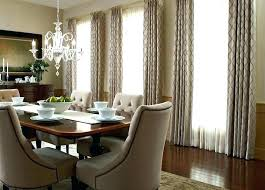 Dining Room Curtain Ideas Formal Drapes Budget Blinds