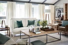 landhaus romantik design gardinen vorhänge