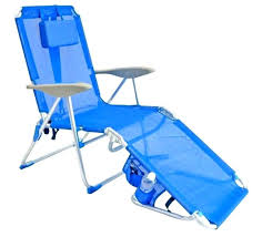 Beach Chair With Footrest And Canopy by Adjustable Reclining Beach Sun Lounge Chair Green Pads Portable