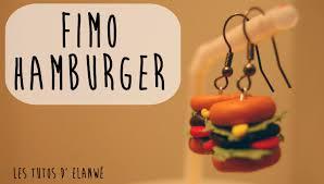 tutoriel pâte fimo 1 créer un hamburger