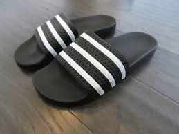 Adidas Adilette slides mens shoes new sandals black 280647 eBay