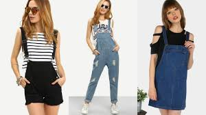 wishlist denim overalls