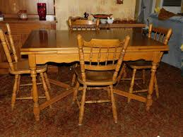 Lot 89 - Vintage Maple Dining Room Table - With Built-In ... Maple And Black Kitchen Sets Edina Design Formal Ding Room Fniture Ethan Allen Solid Maple Ding Table With 6 Chairs And 2 Leaves 225 Bismarck Nd Uhuru Colctibles 1950s Table W Baytown Asbury 60 Round 90 Off Custom Made Tables Home Decor Amusing Chairs Inspiration Saber Drop Leaf Chair Set By Lj Gascho At Morris Christy Shown In Grey Elm Brown A Twotone Michaels Cherry Onyx Finish Includes 1 18 Leaf Kalamazoo Dinner Vintage W2 Leaves Hitchcock Corner Woodworks Vermont