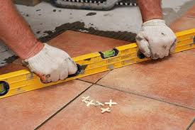 create a rich inviting outdoor patio space by installing tile
