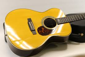 2015 Martin OMJM John Mayer Signature Acoustic In Butterscotch Blonde