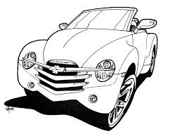 Mercedes Classic Cars Coloring Pages