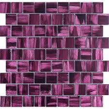 glasfliesen mosaik badezimmer und küche mv drio violet