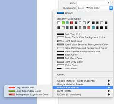 Xcode Plugin For Color Palettes Between Code And The Interface Builder