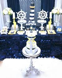 Themes Baby Shower Nautical Themed Baby Shower Table Decorations