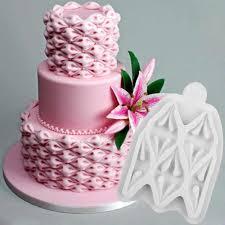 einfach stoff puff silikon form kreative kuchen dekorieren werkzeug fondant cupcakes topper sugarcraft süßigkeiten küche backen zubehör