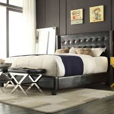Roma Tufted Wingback Bed King by Shop Tufted Wingback Headboard On Wanelo