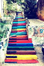 16th Avenue Tiled Steps Project by Brilliant Collection Of Painted Steps Street Art The Design