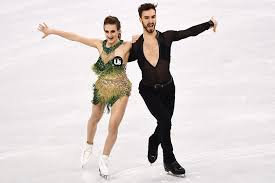 French Ice Dancer Suffers Wardrobe Malfunction at Olympics