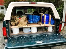 A Unique Sleeping Setup In The Back Of A Ford Bronco – SUV RVing Truck Bed Sleeping Platform 5 To Build Pinterest Truck One Day Stow And Go Storage System Cargo For My Desk To Glory Drawers Sleeping Platform Pickup Bed New Of Diy Pics Artsvisuelaribeenscom Charming Ipirations And Beds Plans For Easy Highpoint Outdoors Step 6 Building The Camper Brojects Ultimate Fishing Boat Convert Your Into A Steps With Pictures Lweight Ptop Revolution How Turn Car Tent No Pitching Necessary