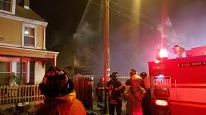 Emmaus Halloween Parade Route by Fire Tears Through Vacant Home In Allentown Wfmz