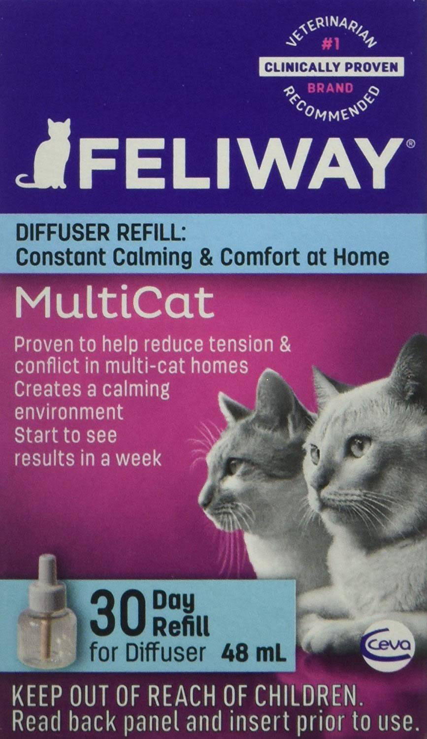 Ceva Animal Health Feliway MultiCat Refill Diffuser - 48ml