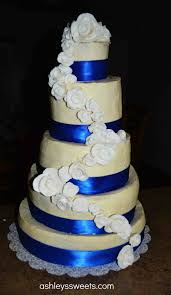 cakes specialists simple single tier cake beautiful white and blue wedding cakes specialists simple single tier