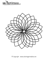 Complex Coloring Page Printable