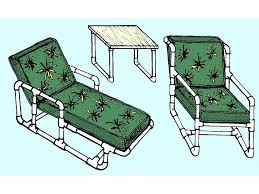 Pvc Patio Chair Replacement Slings by Diy Pvc Patio Furniture Plans Cushions Pipe Chair Replacement