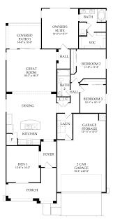 Centex Homes Floor Plans by Pulte Manzanita At Bella Via Mesa Arizona New Construction