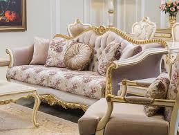casa padrino luxus barock sofa rosa weiß gold 228 x 88 x h 108 cm edles wohnzimmer sofa mit blumenmuster und dekorativen kissen barock