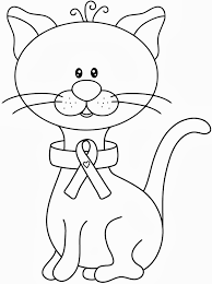 Cancer Coloring Pages Awareness