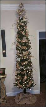 20 Beautiful Thin Christmas Tree