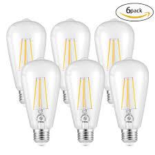 ledgle 6w e26 led bulb set efficient led light bulbs dimmable