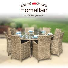 Homeflair Rattan Garden Furniture Darcey Brown Round Dining Table + 8  Chairs Set Supagarden Csc100 Swivel Rattan Outdoor Chair China Pe Fniture Tea Table Set 34piece Garden Chairs Modway Aura Patio Armchair Eei2918 Homeflair Penny Brown 2 Seater Sofa Table Set 449 Us 8990 Modern White 6 Piece Suite Beach Wicker Hfc001in Malibu Classic Ding And 4 Stacking Bistro Grey Noble House Jaxson Stackable With Silver Cushion 4pack 3piece Cushions Nimmons 8 Seater In Mixed