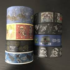 Halloween Washi Tape Australia by 18 Samples Of Star Wars Washi Tape D47