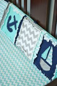 Nautical Crib Bedding by Pink Whales Crib Bedding Nautical Kids Whale Pinkwhalescribset