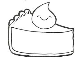 Pies clipart coloring page 8
